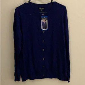 Original Nicole Miller button up sweater